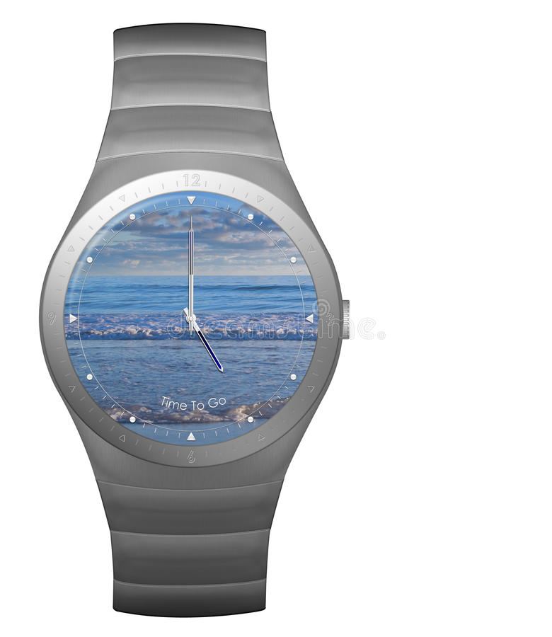 Free Five Oclock Wristwatch Royalty Free Stock Photo - 11019025
