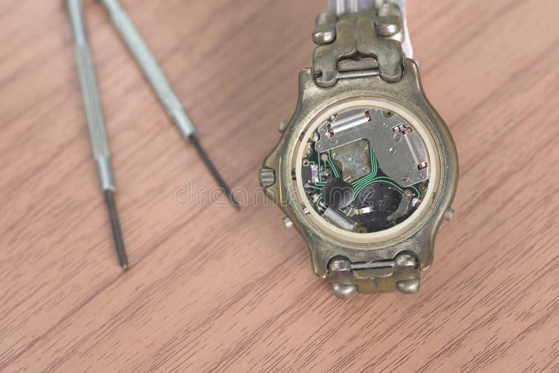 Fixação do relógio imagens de stock
