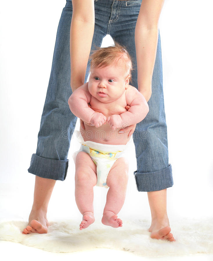 Fixation de mère sa chéri photographie stock