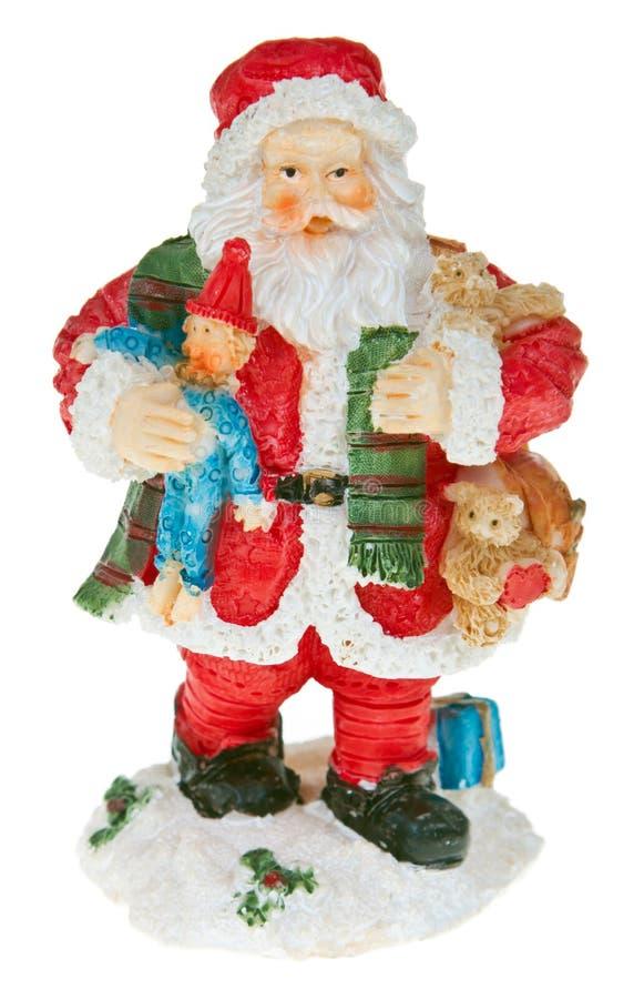 Fixation de Santa image libre de droits