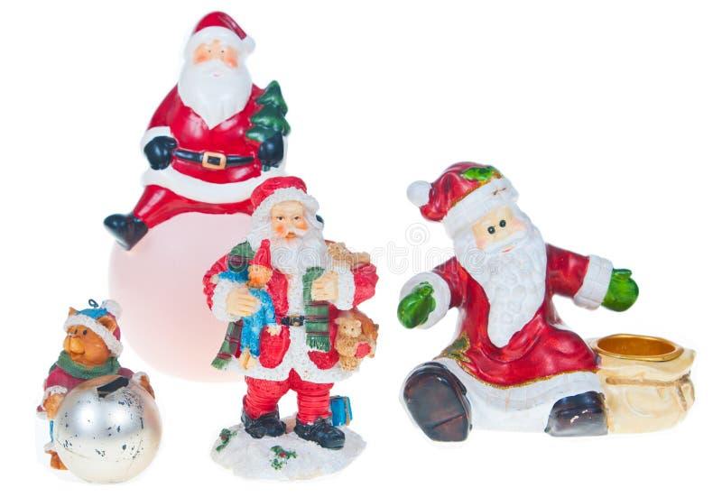Fixation de Santa photographie stock libre de droits