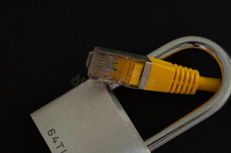 Fixe a conex?o a internet fotos de stock royalty free
