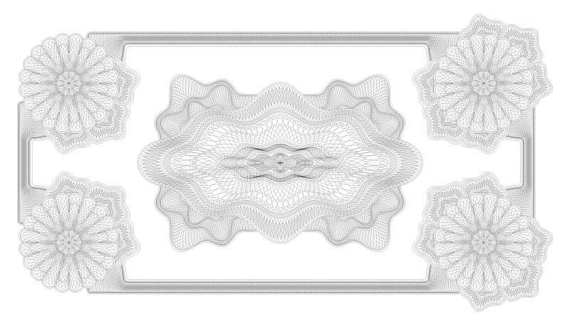 Fixe o vetor do frame do projeto   ilustração royalty free