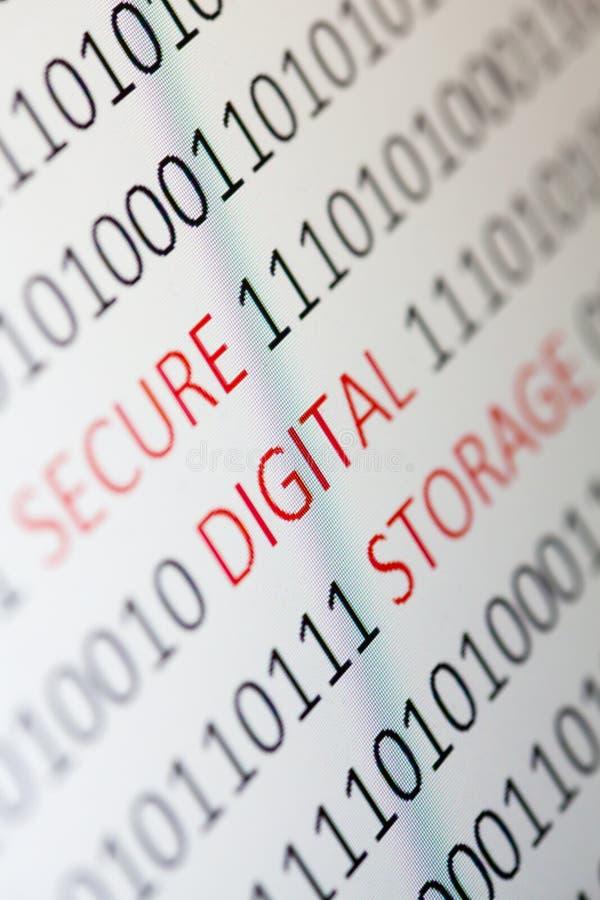 Fixez la mémoire numérique photos stock