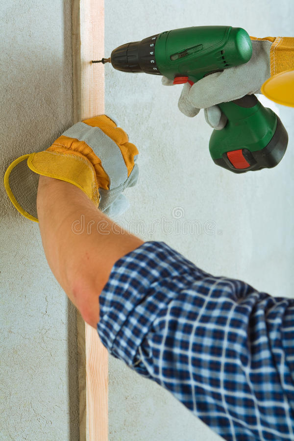 Download Fixing a plank stock photo. Image of handwork, repairing - 28524046