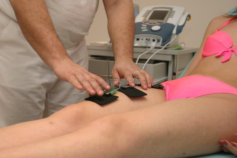fizjoterapia zdjęcia stock