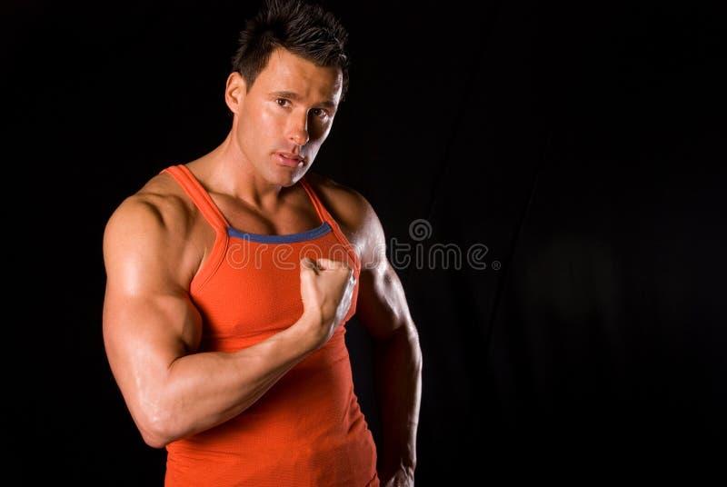fizycznej fitness osobistego trenera obrazy royalty free