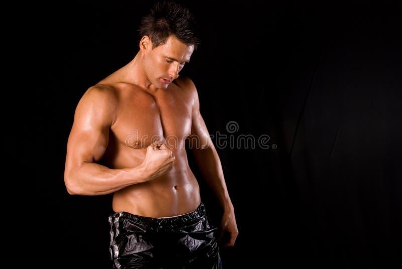 fizycznej fitness osobistego trenera fotografia royalty free