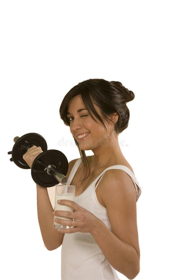 fizycznej młodych kobiet fitness obrazy royalty free