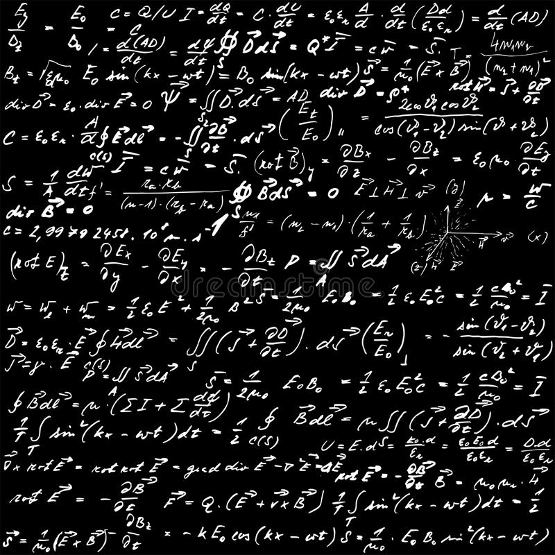 fizyka royalty ilustracja