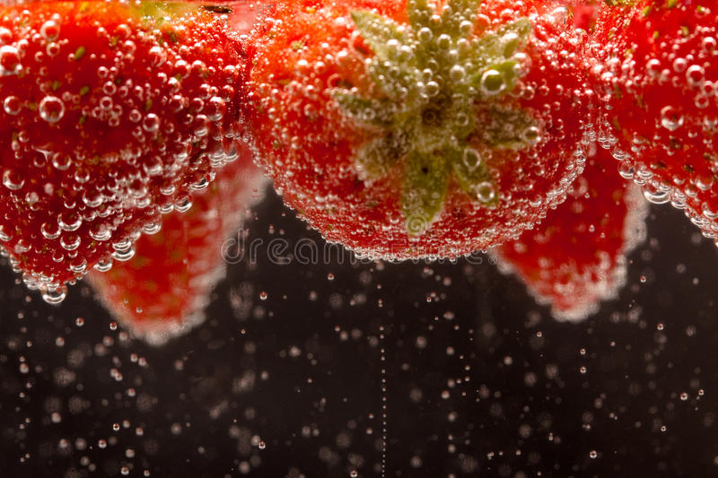 Download Fizzing Strawberries stock image. Image of vibrant, healthy - 11310141