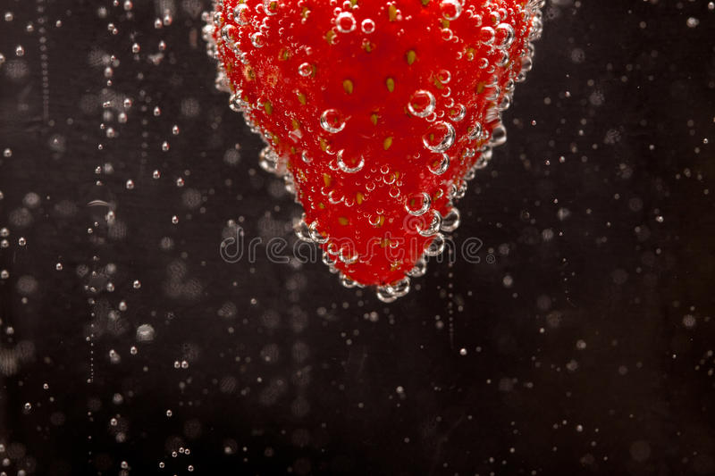 Download Fizzing Strawberry Stock Image - Image: 11310031