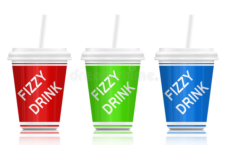 Download Fizzy drinks. stock illustration. Image of green, diabetes - 23950567