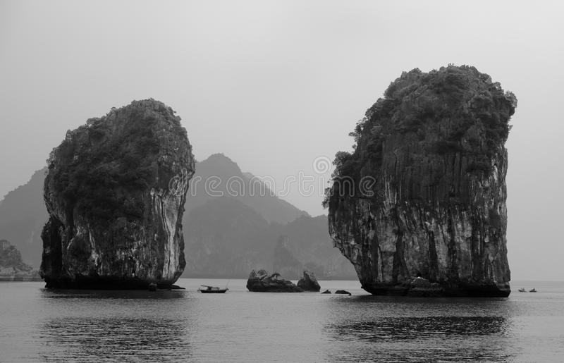 fjärd ha långa vietnam arkivbilder