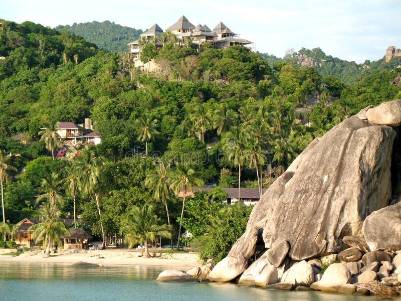 fjärdkoh tao thailand royaltyfria bilder