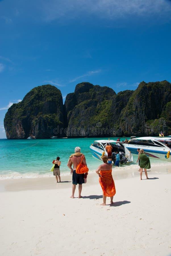 fjärdmaya thailand fotografering för bildbyråer
