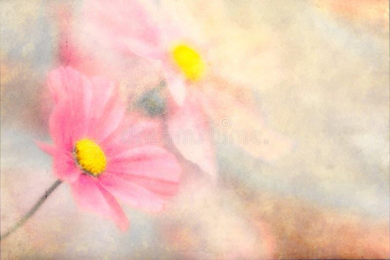 Fjäril-blommor stock illustrationer
