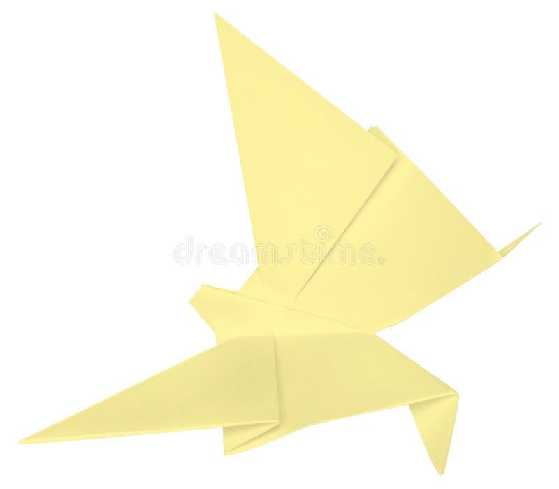 Fjäril som göras av pappers-. arkivbild