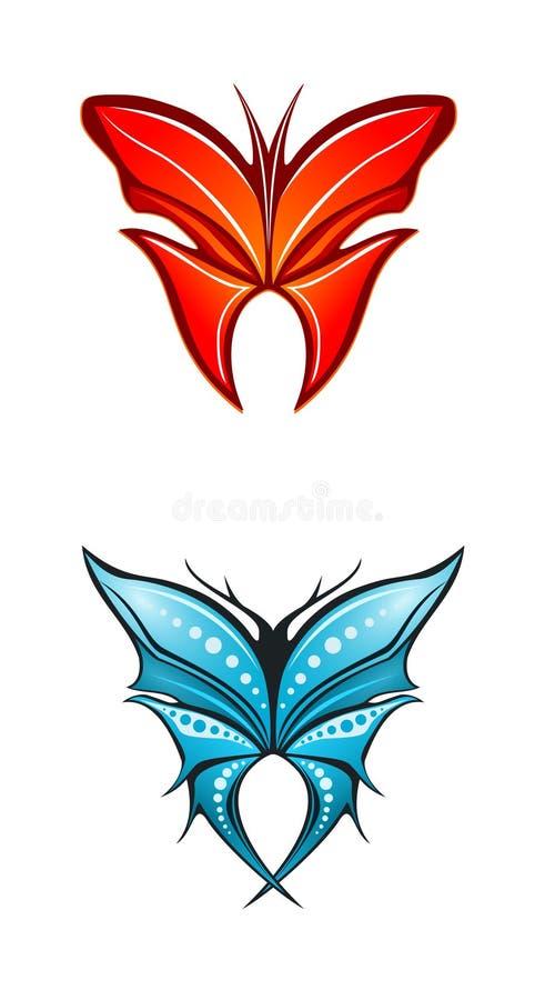 fjärilar arkivbilder