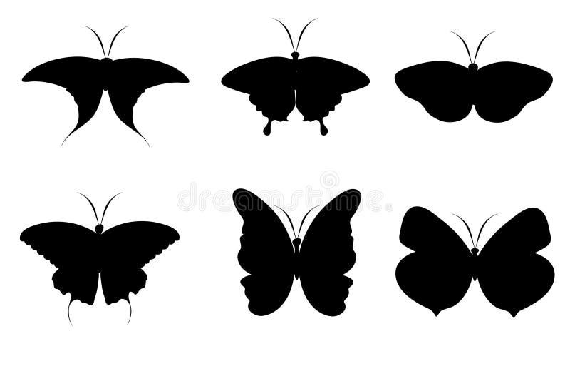 Download Fjärilar vektor illustrationer. Illustration av vingar - 19784142