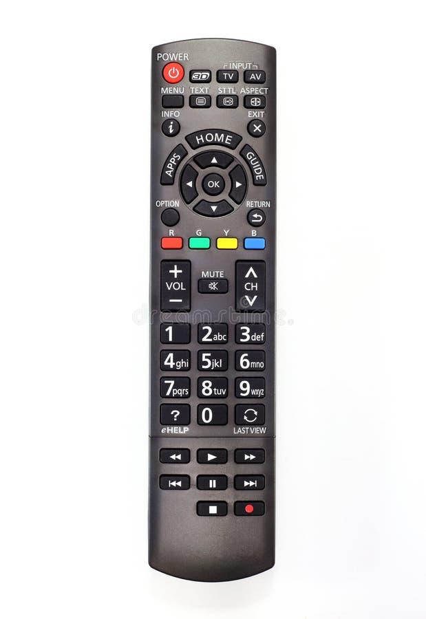 Fjärrkontroll av smart TV royaltyfri fotografi
