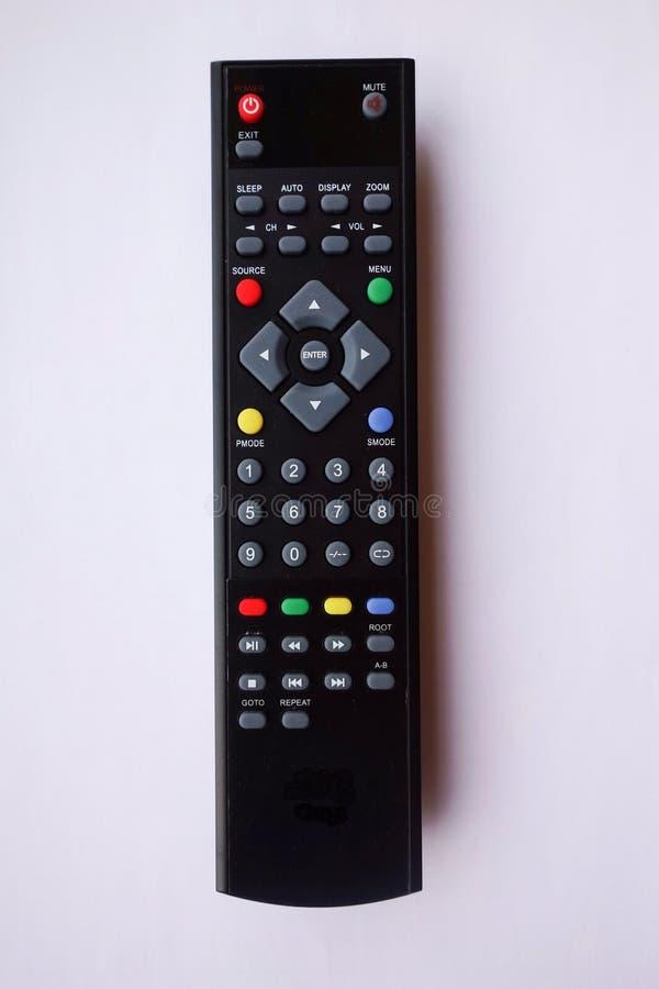 Fjärrkontroll för TV royaltyfri bild