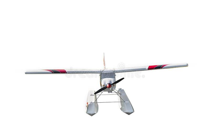 Fjärrstyrd flygplanmodell arkivfoto