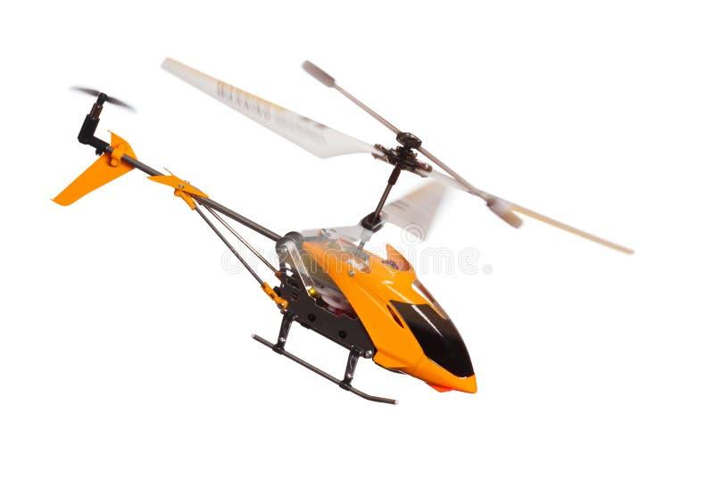 Fjärrstyrd helicoper för Toy royaltyfri fotografi
