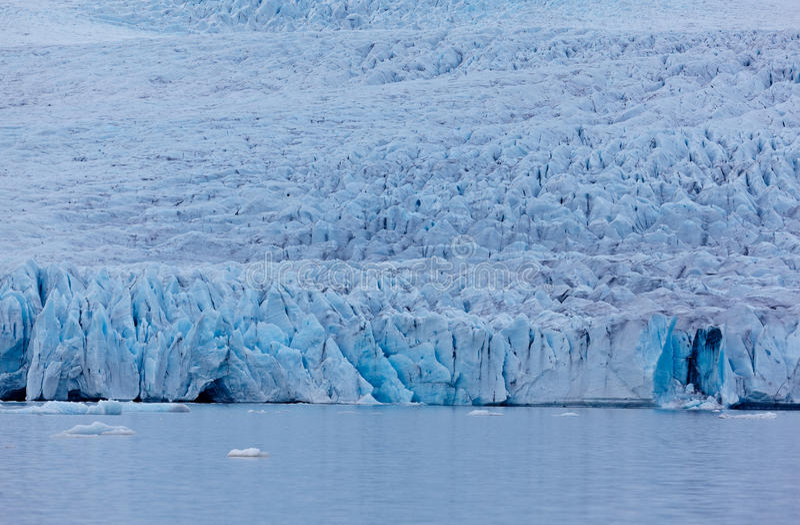 Fjallsjokull glacier, Iceland royalty free stock photography