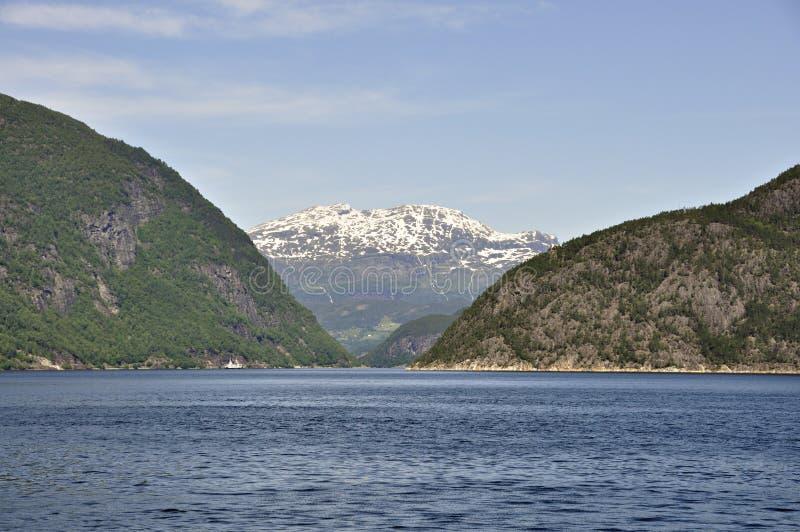 fjord arkivbild