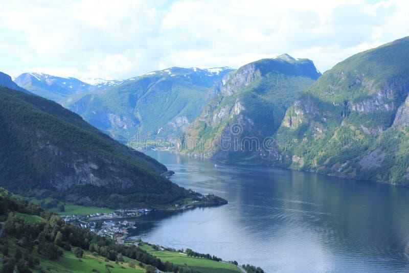 fjord obrazy royalty free