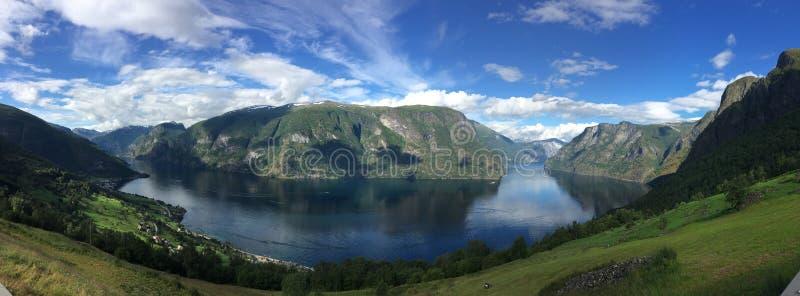 fjord zdjęcie stock