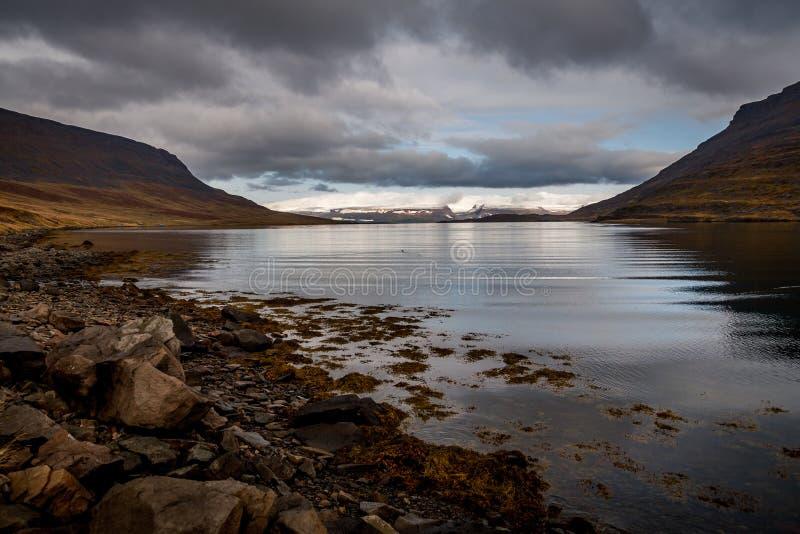 fjord stock fotografie