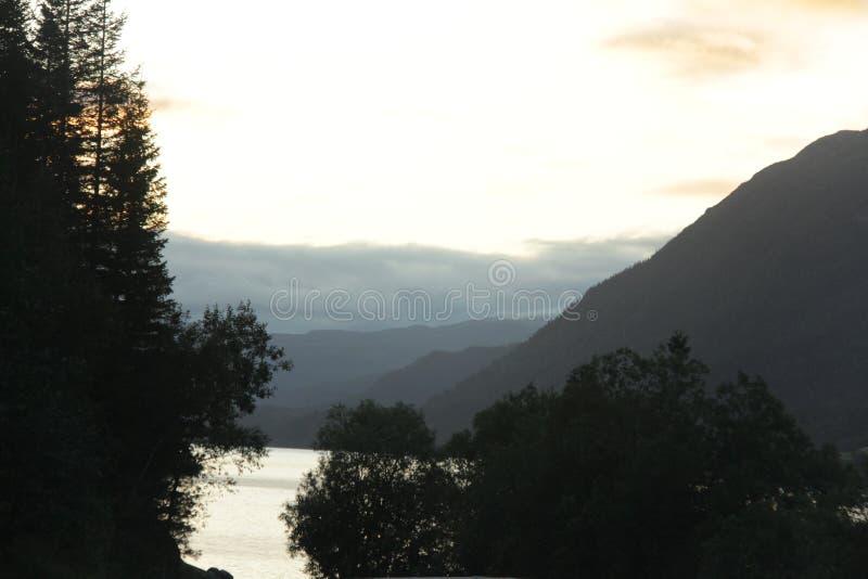 fjord photo libre de droits