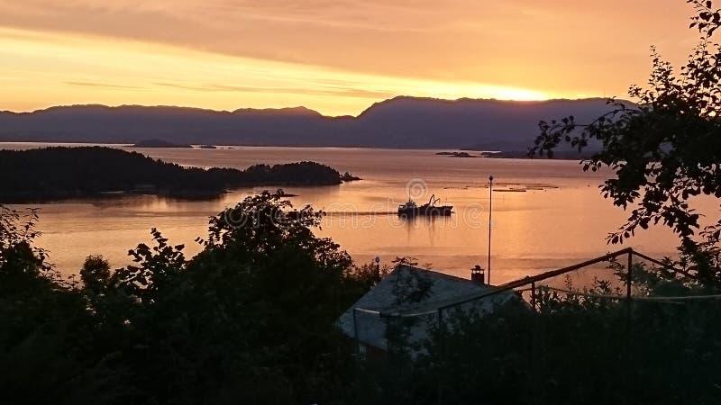 fjord fotos de stock