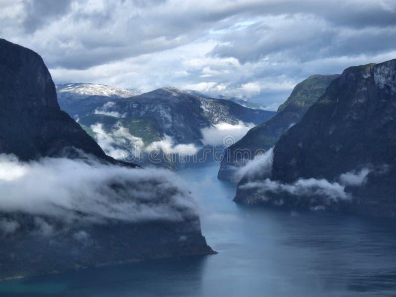Fjord imagem de stock