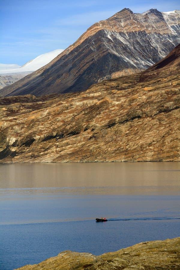 Fjord de Franz Joseph - Groenland photographie stock libre de droits
