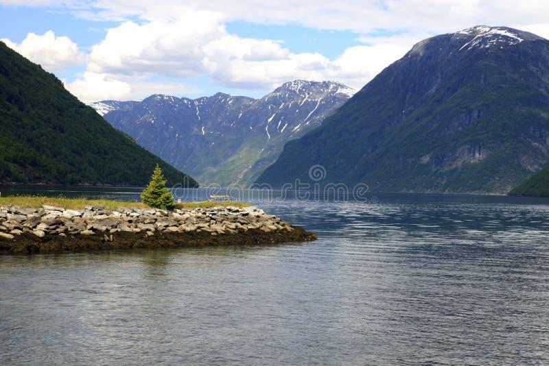 Fjord de Geiranger foto de stock