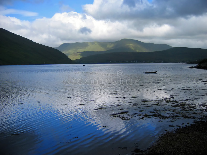 Fjord de Killaray foto de stock royalty free