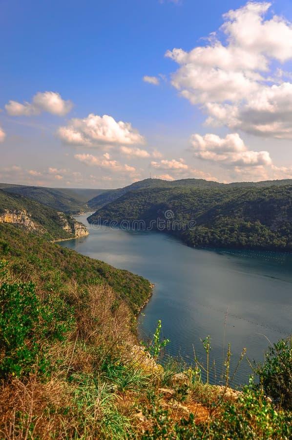 Fjord de Lim images libres de droits