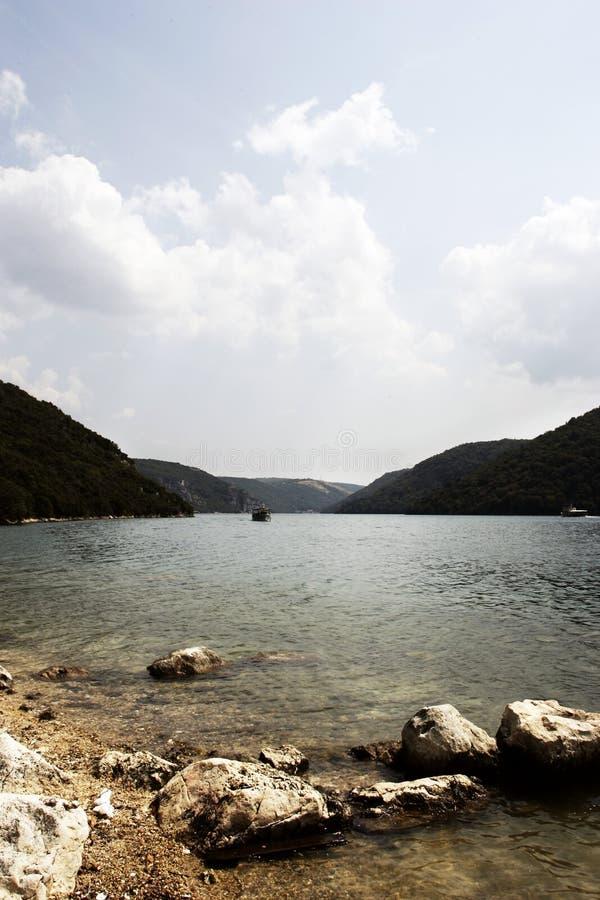 Fjord de Limski photographie stock