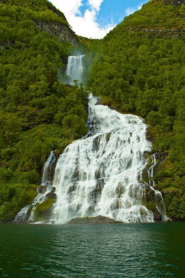 Fjord de Noruega fotografia de stock