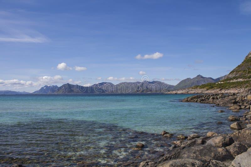 Fjord de Norvegian imagem de stock
