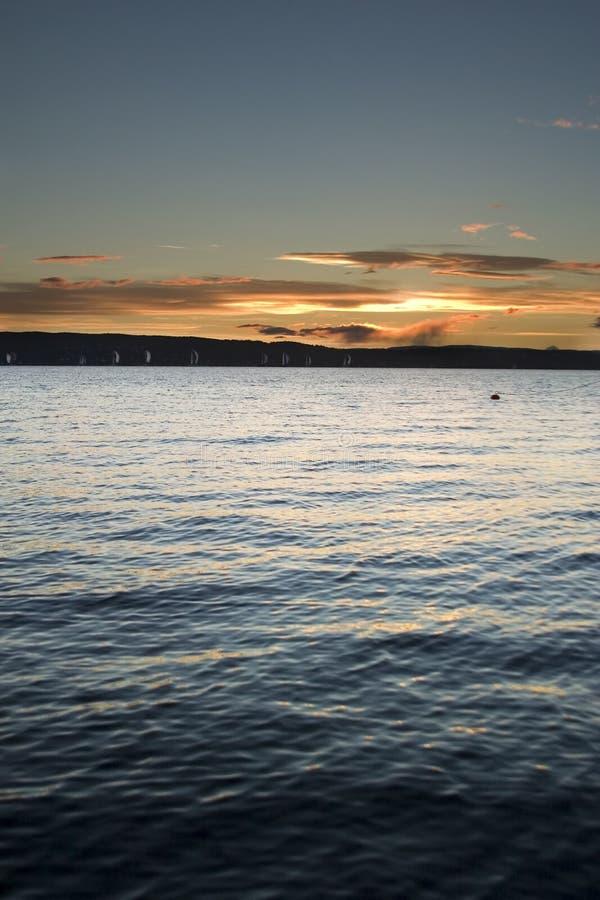 Fjord de Oslo imagens de stock royalty free