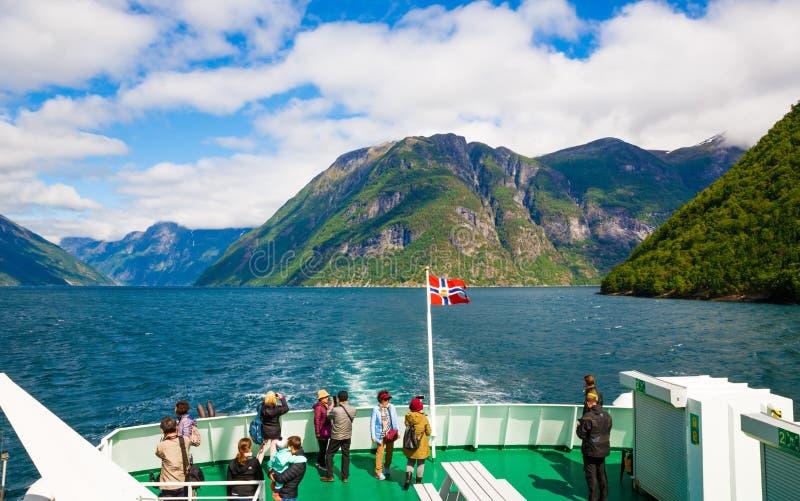fjord geiranger Norway fotografia royalty free