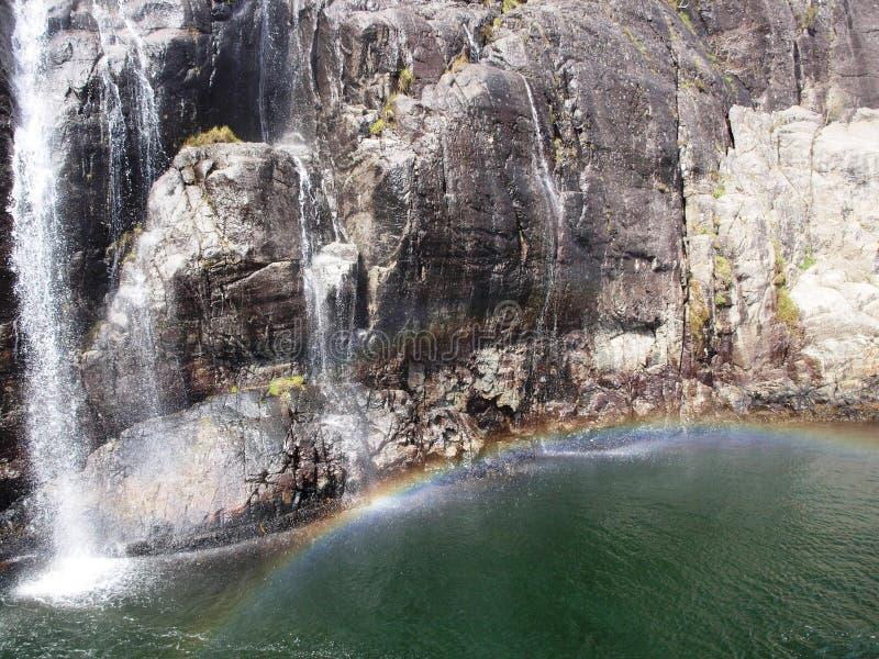 Fjord in Noorwegen stock foto