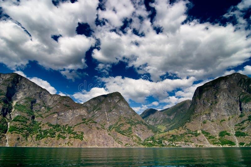 Fjord norvégien image libre de droits