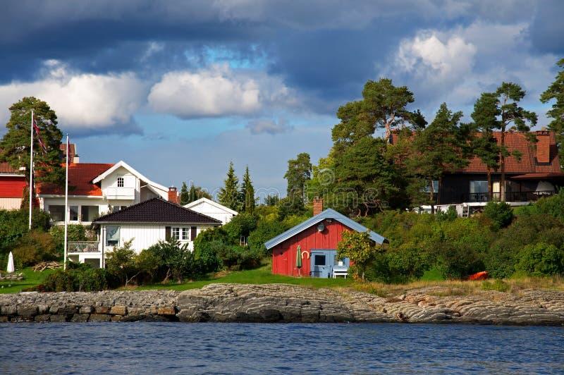 fjord Oslo obraz royalty free