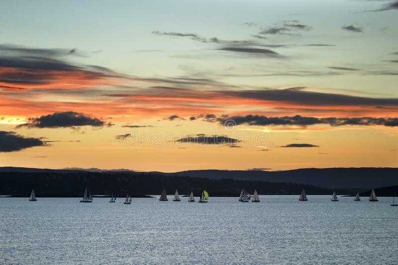 Download Fjord oslo fotografering för bildbyråer. Bild av scandinavian - 512891