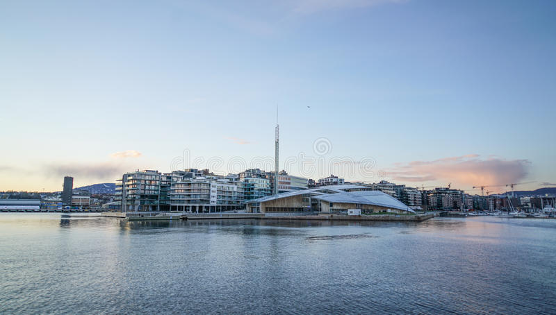 Fjord of Oslo royalty free stock images